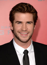 Liam Hemsworth at the California premiere of