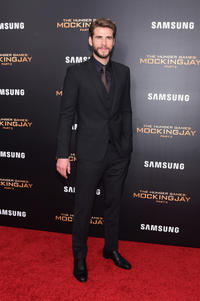 Liam Hemsworth at the New York premiere of