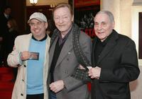 Helmut Zerlett, Otto Sander and Peter Fitz at the premiere of