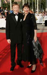 Otto Sander and Monika Hansen at the German Film Awards (Deutscher Filmpreis).