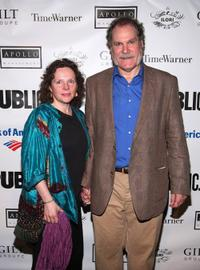 Mary Ann Plunkett and Jay O. Sanders at the 2009 Shakespeare in the Park opening night performance of