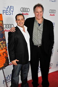 Director Rafael Monserrate and Jay O. Sanders at the 2008 AFI FEST.