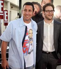 Adam Sandler and Seth Rogen at the California premiere of