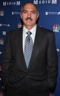 Miguel Sandoval at the NBC fall party for