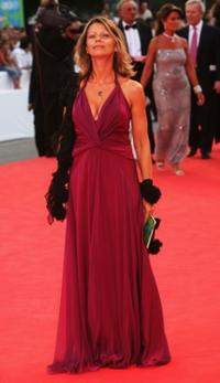 Amanda Sandrelli at the 64th Venice Film Festival.