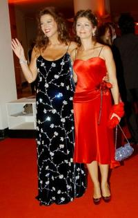 Stefania Sandrelli and her daughter Amanda Sandrelli at the Golden Lion Award during the 62nd Venice Film Festival.