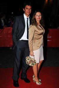 Blas Roca Rey and Amanda Sandrelli at the 3rd Rome International Film Festival.