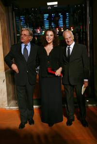Giancarlo Giannini, Stefania Sandrelli and Director Giorgio Capitani at the premiere of