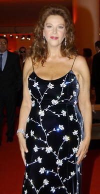 Stefania Sandrelli at the awards ceremony for the Golden Lion Award on the final day of the 62nd Venice Film Festival.