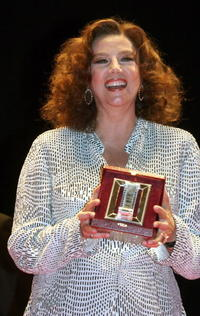 Stefania Sandrelli at the Italian Movie Awards presented by the Association of Film Critics.