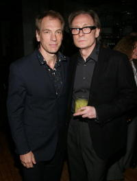 Julian Sands and Bill Nighy at the Vanity Fair & Nicole Farhi celebration of style.