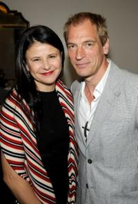 Tracey Ullman and Julian Sands at the UK Film Council US Post Oscars Brunch.