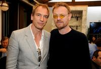 Julian Sands and Jared Harris at the UK Film Council US Post Oscars Brunch.