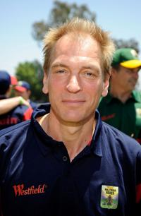 Julian Sands at the Westfield Hollywood Ashes Australia vs. Britain Celebrity Cricket Match.