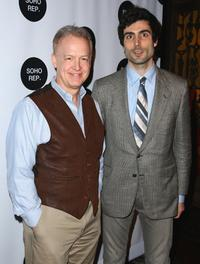 Reed Birney and Louis Cancelmi at the 2009 Soho Rep's Spring Gala.