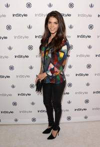 Marie Avgeropoulos at the 12th Annual InStyle Summer Soiree in California.