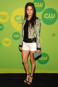 Marie Avgeropoulos at the CW Network's New York 2013 Upfront Presentation in New York.