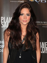 Janet Montgomery at the WTB Spring 2011 Fashion Show in California.