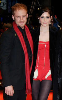 Ben Foster and Janet Montgomery at the premiere of