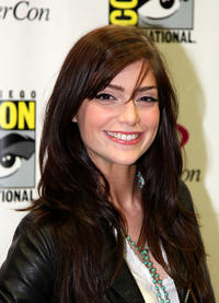 Janet Montgomery at the Day 3 of 2011 Wondercon in San Francisco.