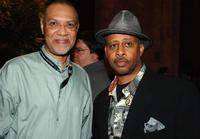 Warrington Hudlin and Ruben Santiago-Hudson at the TAA Closing Night Party during the 5th Annual Tribeca Film Festival.