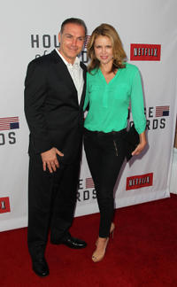 Al Sapienza and Laurie Fortier at the Netflix's