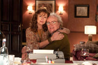 Susan Sarandon as Older Ursula and Jim Broadbent as Cavendish in