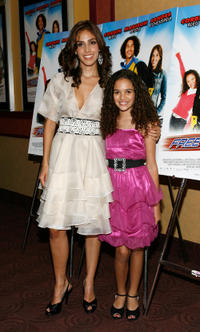Sandra Echeverria and Madison Pettis at the New York premiere of