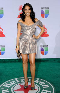 Sandra Echeverria at the 12th Annual Latin GRAMMY Awards.