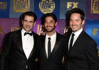 Colin Farrell, Ryan Bingham and Scott Cooper at the FOX 2010 Golden Globes party.