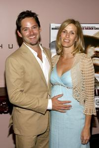 Scott Cooper and Jacquelin Cooper at the premiere screening of