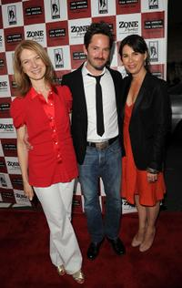 Dawn Hudson, Scott Cooper and Rebecca Yeldham at the gala screening of