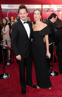 Scott Cooper and Guest at the  82nd Annual Academy Awards.