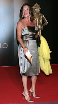 Lina Sastri at the David di Donatello 2007 Italian Awards.