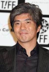 Koichi Sato at the press conference during the 18th Tokyo International Film Festival.