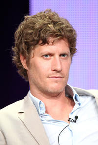 Eric Sheffer Stevens at the day 10 of the 2011 Summer TCA Tour in California.