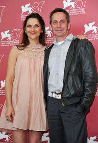 Antonia Zegers and Alfredo Castro at the photocall of