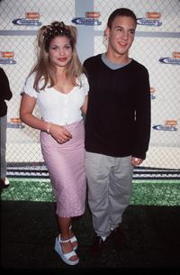 Danielle Fishel and Ben Savage at the Nickelodeon's 12th Annual Kids Choice Awards.