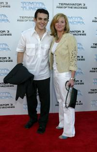 Fred Savage and his guest at the world premiere of