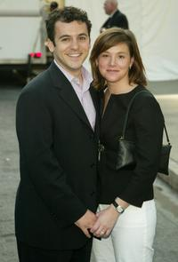 Fred Savage and Jennifer Stone at the ABC upfront.