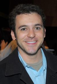 Fred Savage at the after party of the premiere screening of