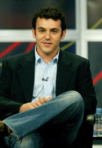 Fred Savage at the panel discussion of