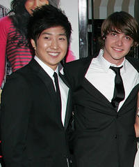 Tim Jo and Ryan Donowho at the  California premiere of