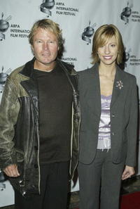 John Savage and Brenda Brkusic at the 2004 ARPA International Film Festival Gala and Awards Benefit.