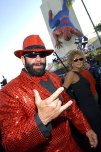 Randy Savage at the premiere of