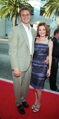 Doug Savant and his wife Laura Leighton at the premiere of