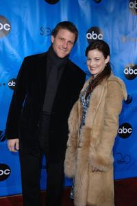 Doug Savant and his wife Laura Leighton at the Disney / ABC Television Group All Star Party.