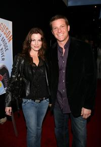 Laura Leighton and her husband Doug Savant at the launch party of Craig Fergusons Novel