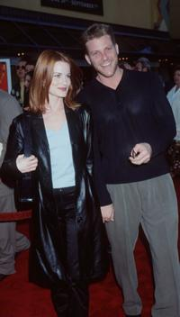 Doug Savant and Laura Leighton at the premiere of