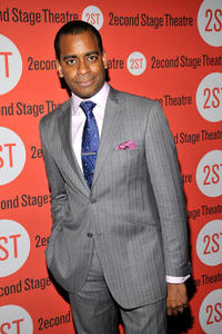 Daniel Breaker at the after party of the Off-Broadway Opening Night of